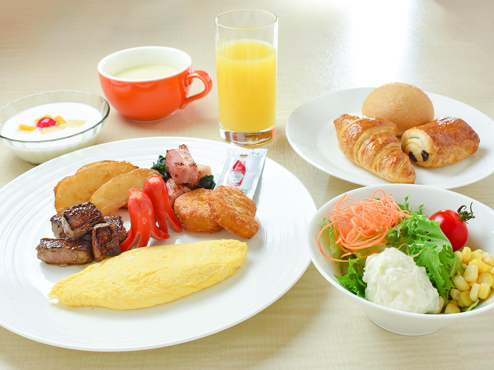 朝食キッズプレート(当面の間)