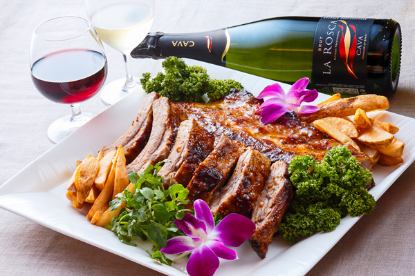 プライベートパーティープラン鶏肉の赤ワイン煮込みのイメージ