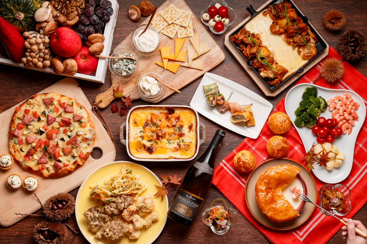 秋の味覚とチーズフェア 料理のイメージ画像