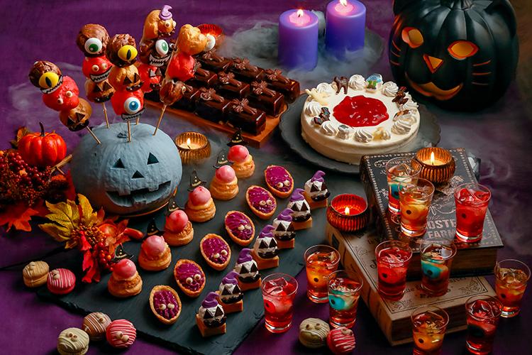 秋の味覚とチーズフェア ハロウィーンスイーツのイメージ画像