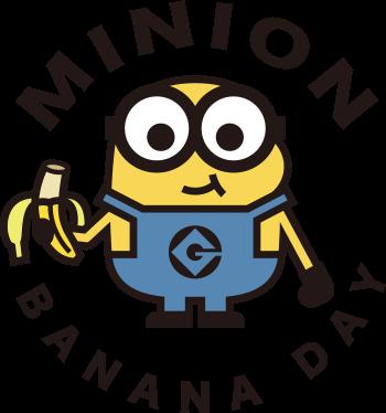 MINION BANANA DAY ロゴ