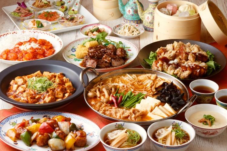 中華と飲茶フェア ディナーメニューのイメージ画像