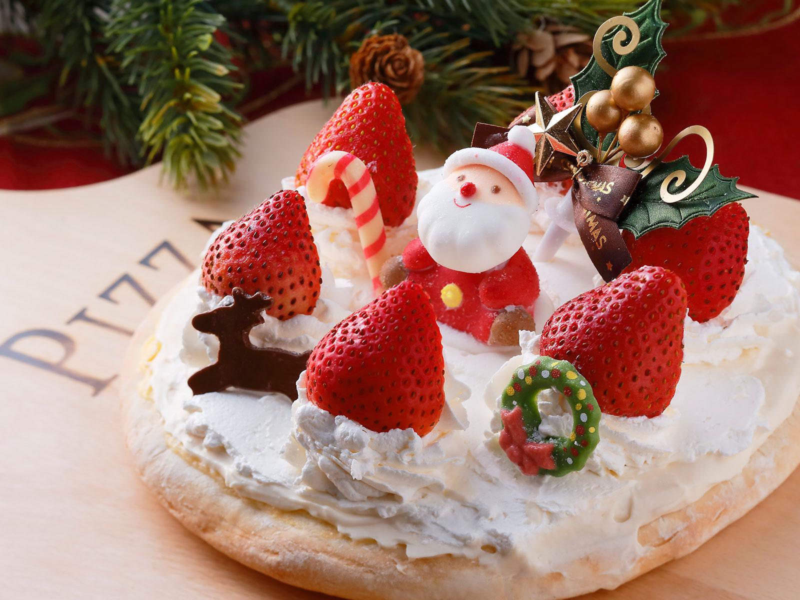 クリスマスドルチェピッツァ